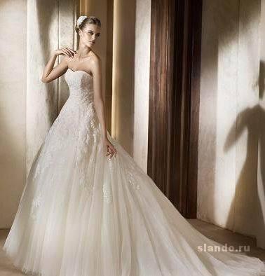 платья » Свадебные платья с кружевом