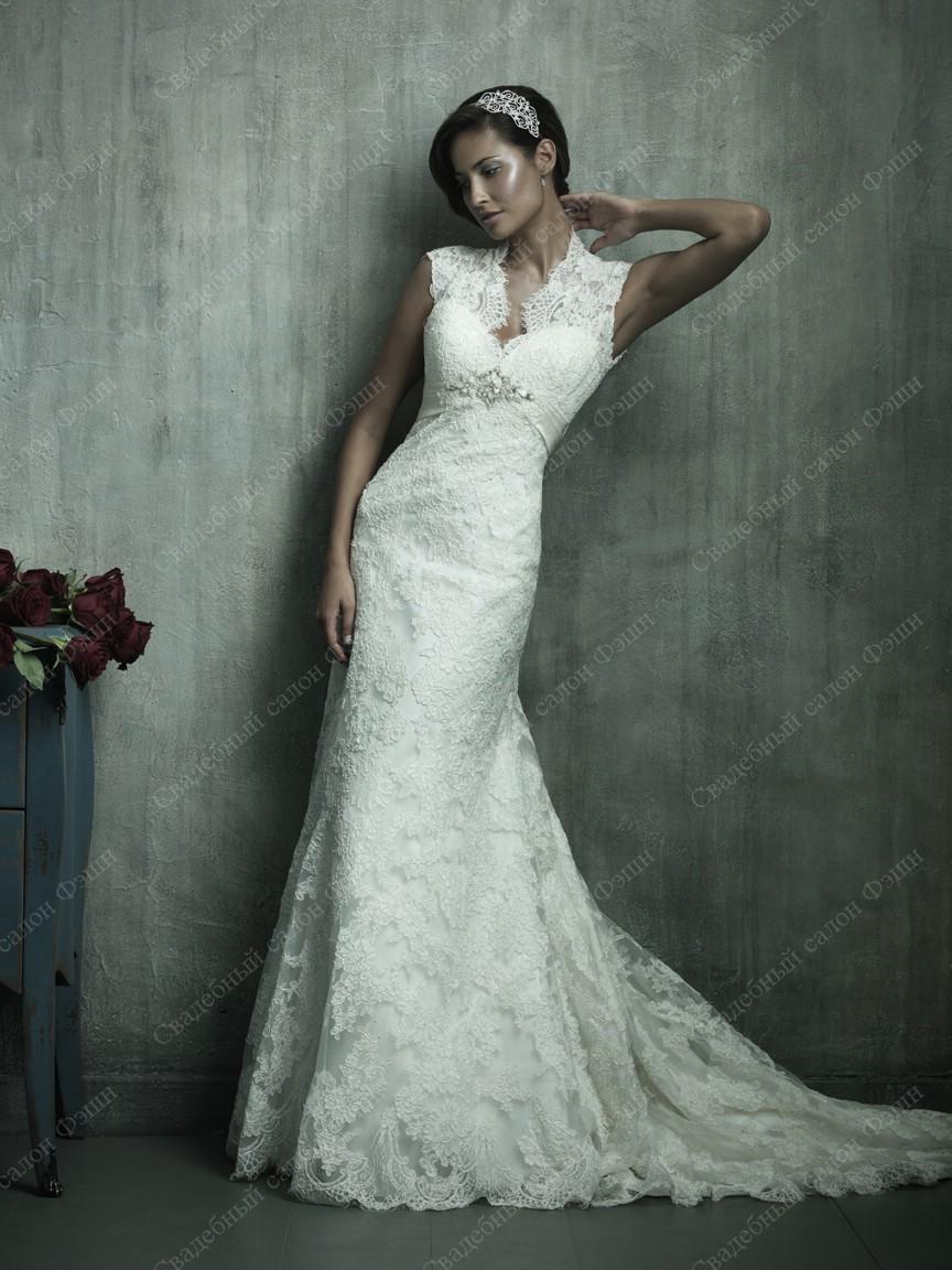 Кружево в свадебных платьях 2016